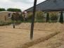Burggraben wird mit Beton gefüllt