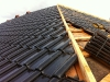 Ziegel auf dem Dach