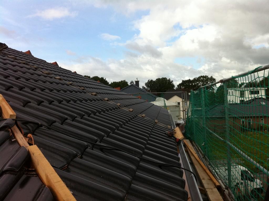 Dach gedechkt