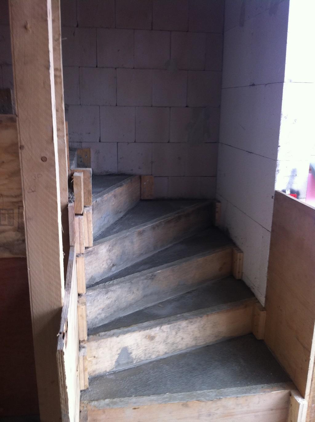 Treppenaufstieg
